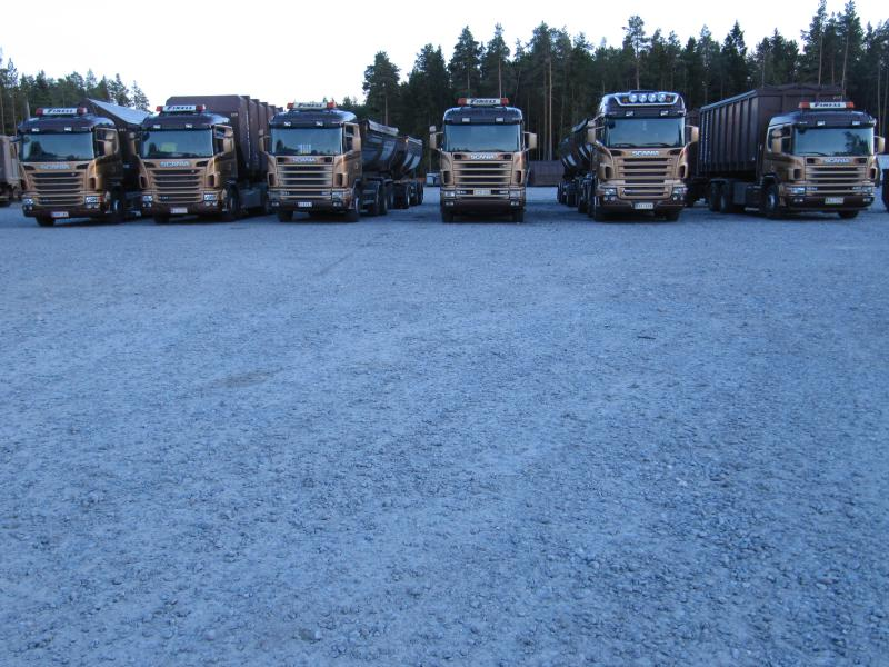 Lastbilar framifrån