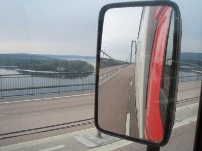 höga kusten bron transport